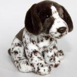 Stofftier Hund / Jagdhund Pointer