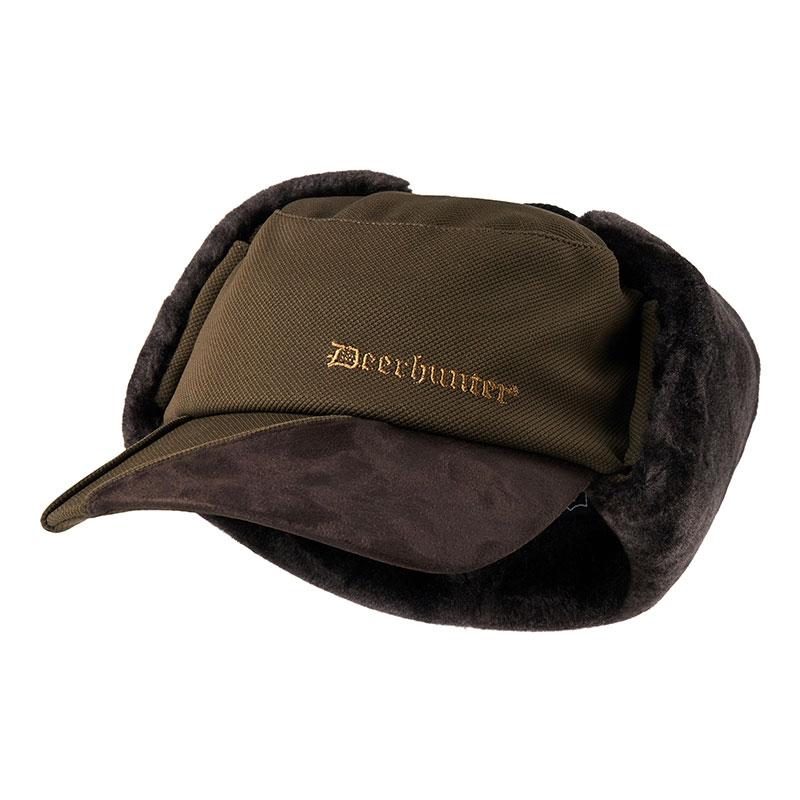 Deerhunter Muflon Winter Jagdmütze grün