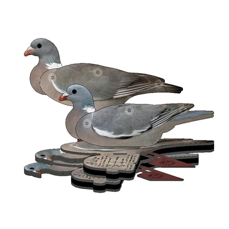 NRA FUD Lockvögel Taube 6er Set