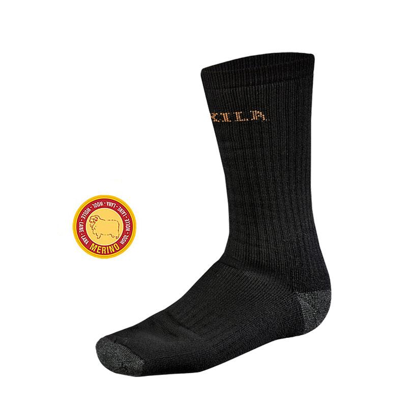 Härkila Expedition Socken schwarz