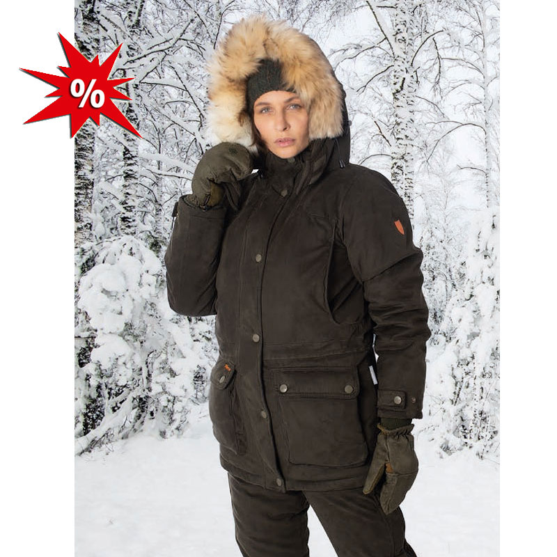 Hubertus Iceland Damen Winter Jacke