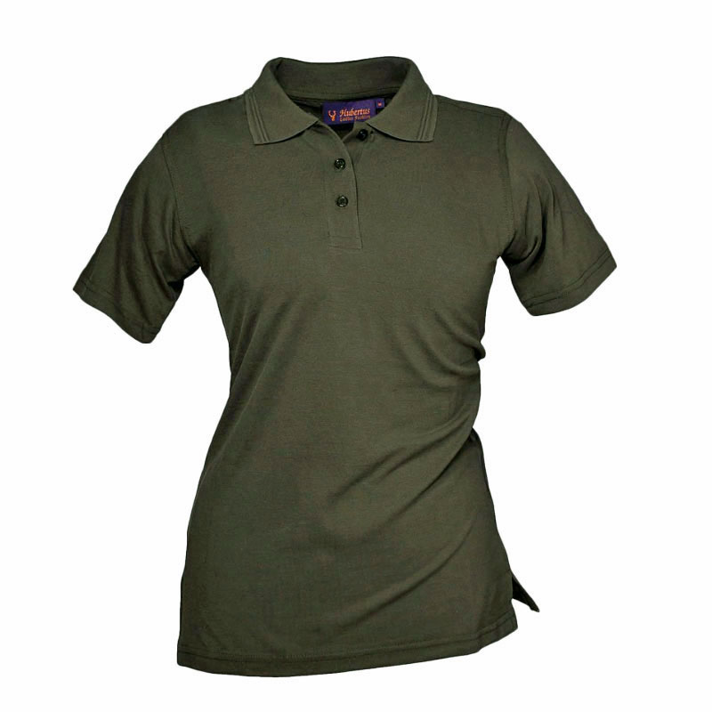 Hubertus Damen Poloshirt olivgrün