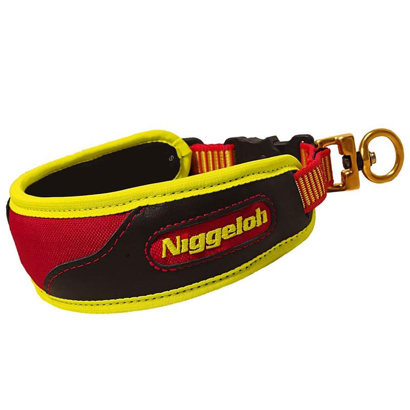 Niggeloh Schweißhalsung Trail gelb-rot