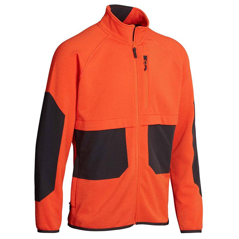 Northern Hunting Bur Fleecejacke orange