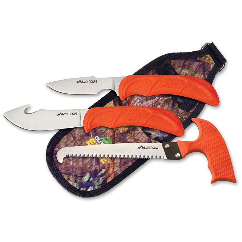 Outdoor Edge Wild Guide Messer-Set