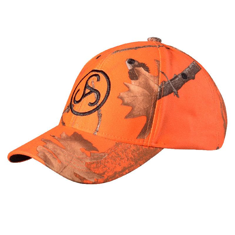 Sauer Cap Camo Orange
