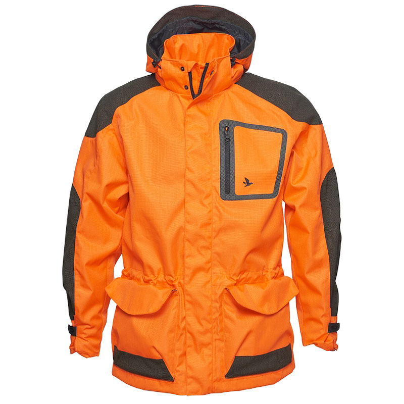 Seeland Kraft Jacke Orange Blaze