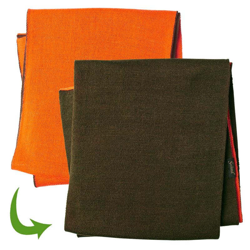 Seeland Ian Schal orange-grün